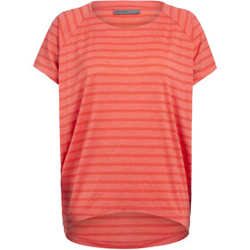 Icebreaker Elowen T-shirt Col ras-du-cou Femme, hibiscus